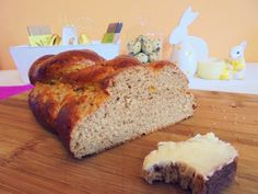Foszlós kalács Banana Bread, Desserts, Food, Tailgate Desserts, Deserts, Essen, Postres, Meals, Dessert