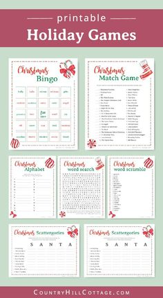 Christmas Activities For Families Free Printable - Christmas Christmas Trivia Games, Christmas Activities For Families, Fun Christmas Party Games, Xmas Games, Printable Christmas Games, Christmas Games For Family, Holiday Games, All Family, Christmas Parties