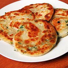 Chinese Scallion Pancakes. These just taste damn good.