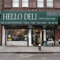 Rupert Jee's Hello Deli NYC Great sandwiches, pickles-the works