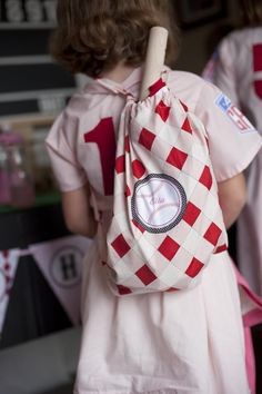 """""""A League of Her Own"""" Girly Baseball Party with SUCH ADORABLE IDEAS via Kara's Party Ideas 