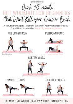 Low Impact HIIT Workout