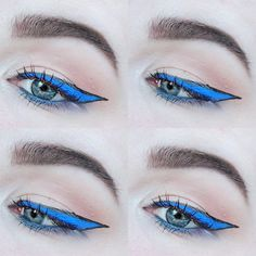 Tried one of the #spring2016 #makeuptrends #blue #liner x vivid brights eyeliner and matte liquid liner from @nyxcosmetics @nyxnordics x x x x  #100daysofmakeup #beautyaddictsfb #beautyaddict #fiftyshadesofmakeup #beautiful #beauty #hudabeauty  #makeupfanatic1 #picoftheday #lookoftheday #lookamillion #makeupjunkie #Makeupbyme #makeupaddict #makeupmafia #makeuplover #makeup #motd #eyes  #eotd #creativemakeup #100daysofmakeupchallenge #allbeautymatters #anastasiabeverlyhills #trend #day43