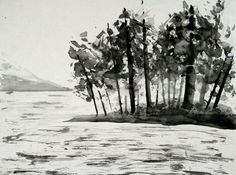 Chinese Ink Painting by GioBee
