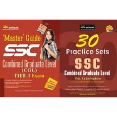 SSC Combined Graduate Level Guide and 30 Practice sets