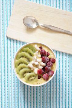 Mon petit-déjeûner fruité #7 – Smoothie à la nectarine et noix de cajou | Ma Petite Cantine