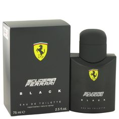 Ferrari Scuderia Black Ferrari Masculino 75ml EDT - https://www.dgstores.com.br/ferrari-scuderia-black-ferrari-masculino-75ml-edt