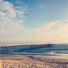Avalon fishing pier in the Outer Banks! #OBX #fishing #piers http://www.sunrealtync.com/outer-banks-fishing-rental-info