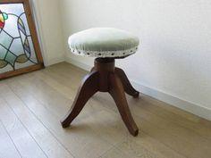 Chair アンティーク椅子古いナラ材の回転チェア クウネル天然生活雅姫 インテリア 雑貨 家具 Antique ¥9800yen 〆06月13日
