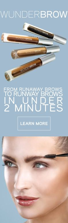 #WunderBrow providing runway brows in under 2 minutes that will last for days! WunderBrow is smudgeproof, sweatproof, transferproof and waterproof meaning your flawlessly sculpted brows will stay until you decide to remove them with an oil based cleanser. We offer 4 shades - Blonde, Brunette, Auburn and Black/Brown which are perfect for every occasion! With a 30 day money back guarantee, WunderBrow comes risk free! What are you waiting for? Join over 500,000 happy WunderBrow customers today!