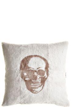 Skull Rabbit Pillow | Calypso St. Barth