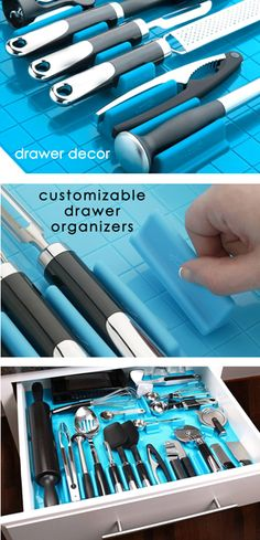 End drawer clutter in minutes with colorful, customizable DrawerDecor Drawer Organizers 40-43% off. http://steals.me/1cJX18F