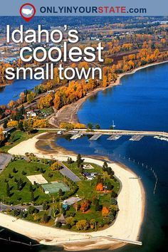 Travel Idaho Attractions Small Town USA Places To Visit Destinations Day Trips Getaways Waterfront Beaches Natural Beauty Scenic Theme Park Things To Do Usa Places To Visit, Places To See, Island Park Idaho, Moving To Idaho, Sandpoint Idaho, Vacation Spots, Oregon Vacation, Vacation Trips, Small Towns