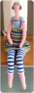 poupée Inge - free crochet pattern (NL)