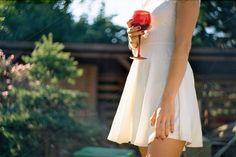 Girl drinking wine in the garden #stock #photography #girly #analog #bloggers #blogging #mood #stockphoto #stockphotography #inspiration #inspire #femaleenterpreneur #enterpreneur #business #work