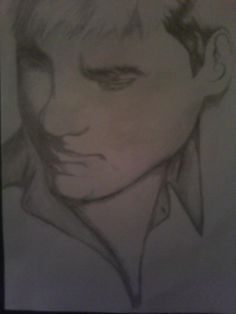 From Denise Barlow - A black and white sketch of one of my favorite singers, Taylor Hicks