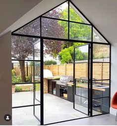 "Crittall Windows UK on Instagram: ""Something a bit different from @bespokeglazingdesign in collaboration with @blakesldn & @mascotbespoke. Enquire about your project today on…"""