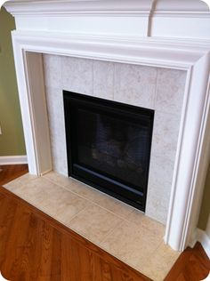 Extend trim beyond fireplace to gain more depth for built-ins