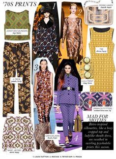 Who What Wear | Fall 2012 Trend Guide | '70s Prints