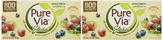 PureVia All Natural Zero Calorie Sweetener 800 Packets (28.2oz)(Pack of 2) ^^ New offers awaiting you  : Baking supplies