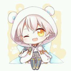 Touken Ranbu chibi Manga Cute, Cute Anime Chibi, Kawaii Chibi, Cute Anime Boy, Anime Art Girl, Anime Guys, Manga Anime, Kawaii Drawings, Cute Drawings