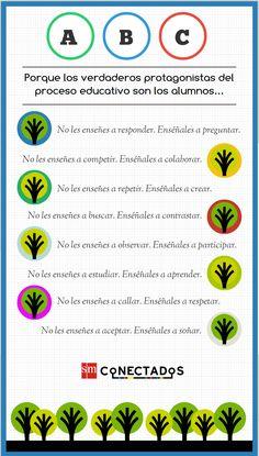 Infografía enseñanzas imprescindibles blog de educacionp