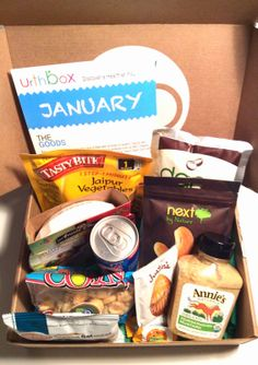 What a great healthy snack/ lifestyle box @UrthBox