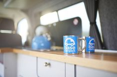 Are you looking for a campervan conversion but would like the glamping experience? Take a look at our glamping campervan conversions & see if its for you. Vw Conversions, Camper Conversion, Car Camper, Campervan, Glamping, Conversation, Base, Mugs, Motorhome