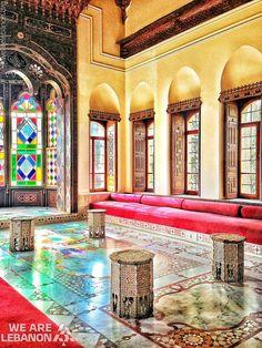 Lebanon, Chouf, Beiteddine palace  قصر بيت الدين  By Asuman Venceli