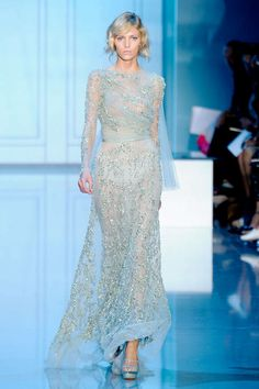 Elie Saab Fall 2011 Couture Runway - Elie Saab Haute Couture Collection - ELLE