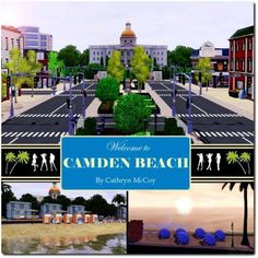 Sims 3 Finds - New World - Camden Beach at Custom Sims 3