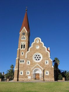 Christ Church, Windhoek - Wikipedia, the free encyclopedia Art Nouveau Architecture, Organic Architecture, Photography Essentials, Namib Desert, Namibia, West Africa, Kirchen, Travel Inspiration, Tourism