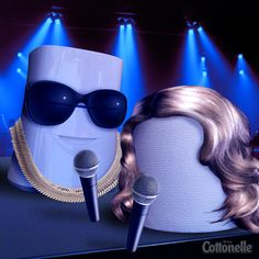 He raps. She sings. They're a musical power couple who named their first baby the color blue. Who are they?