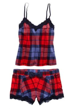 Cozy up in sleepwear and nightwear for women from Aerie. With pajamas, robes, boxers and nighties we have you covered for bedtime. Cute Pjs, Cute Pajamas, Plaid Pajamas, Comfy Pajamas, Cute Sleepwear, Lingerie Sleepwear, Nightwear, Onesie Pajamas, Pyjamas