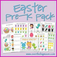 Easter Pre-K Pack -  Pinned by @PediaStaff – Please Visit http://ht.ly/63sNt for all our pediatric therapy pins