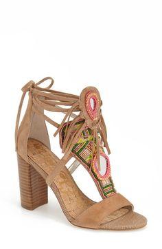 Sam Edelman 'Yvette' Beaded Fringe Sandal (Women) available at #Nordstrom