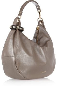 581348c9e3ed Jimmy Choo - Solar leather hobo bag