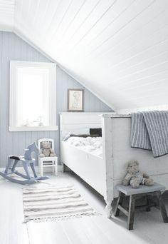 Blue & white bedroom   Mias Interiør