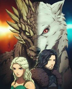 Winter Is Here, Winter Is Coming, Jon Snow And Daenerys, I Love Games, Game Of Thrones Art, Jaime Lannister, Fantasy Comics, Mother Of Dragons, Arya Stark