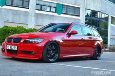 BMW (E91) with CSL-5.5 Photos - Media - Concept One Wheels