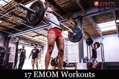 If you are looking to spice up your training, give these EMOM CrossFit Workouts a go. They are an efficient way to build strength, muscle, and endurance.