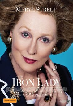 The Iron Lady , starring Meryl Streep, Jim Broadbent, Richard E. Grant, Susan Brown. An elderly Margaret Thatcher talks to the imagined presence of her recently deceased husband as she struggles to come to terms with his death while scenes from her past life, from girlhood to British prime minister, intervene. #Biography #Drama #History