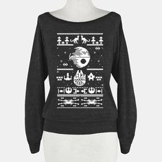 This Ugly Death Star Christmas Sweatshirt Is Anything But Unattractive