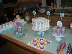 Spa party..great for teens or shower