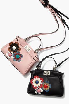It's coming up flowers with #Fendi this spring #SaksStyle