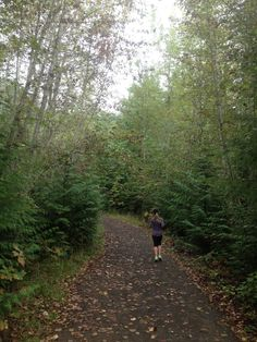 trail running in Oregon is something unique and incredible that every runner should experience. this was in Beaverton, OR (home of Nike!)