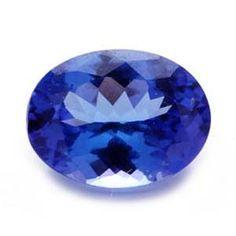 Liquidation Channel:  Tanzanite Stone (Oval Cut, 8x6mm, 1.01 cts.)