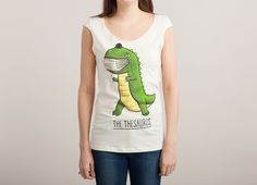 """The Thesaurus"" - Threadless.com - Best t-shirts in the world Girly Boat Neck Size Medium"