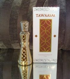 Tawaasal - Alcohol Free Arabic Perfume Oil Fragrance for Men and Women (Unisex) by Khadlaj. $24.99. Exquisite Bottles. Premium Essential Oil Blends. 15 ml. Alcohol Free. Imported from Middle East. Exquisite perfumed oil from middle east. Sweet and diffusive aroma. Contains Rose and Saffron. Warm fragrance.