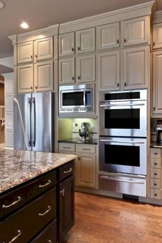 45+ Most Popular Kitchen Design Ideas on 2018 & How to Remodeling #kitchendesign #kitchendesignideas